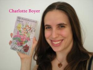 Charlotte Boyer - Vôtre (Bons baisers de partout)