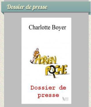 dossier de presse - Adrien Poche